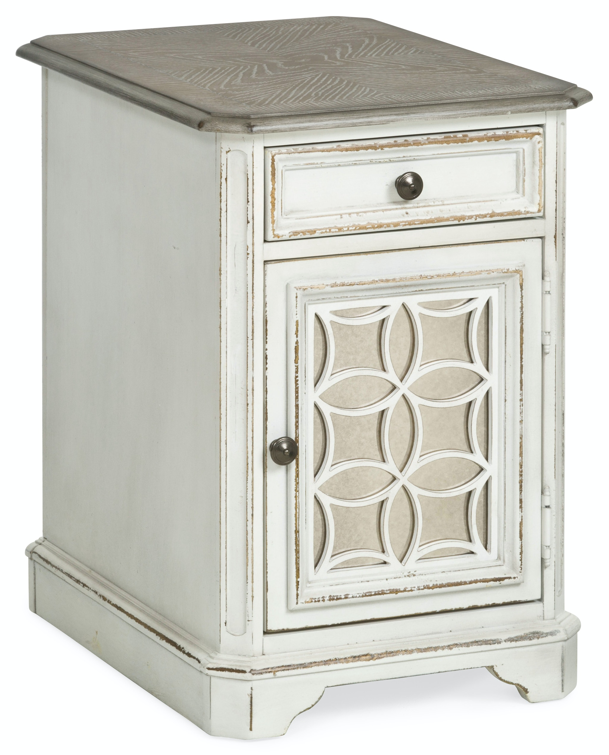 Magnolia Manor Chairside Table ST:494699