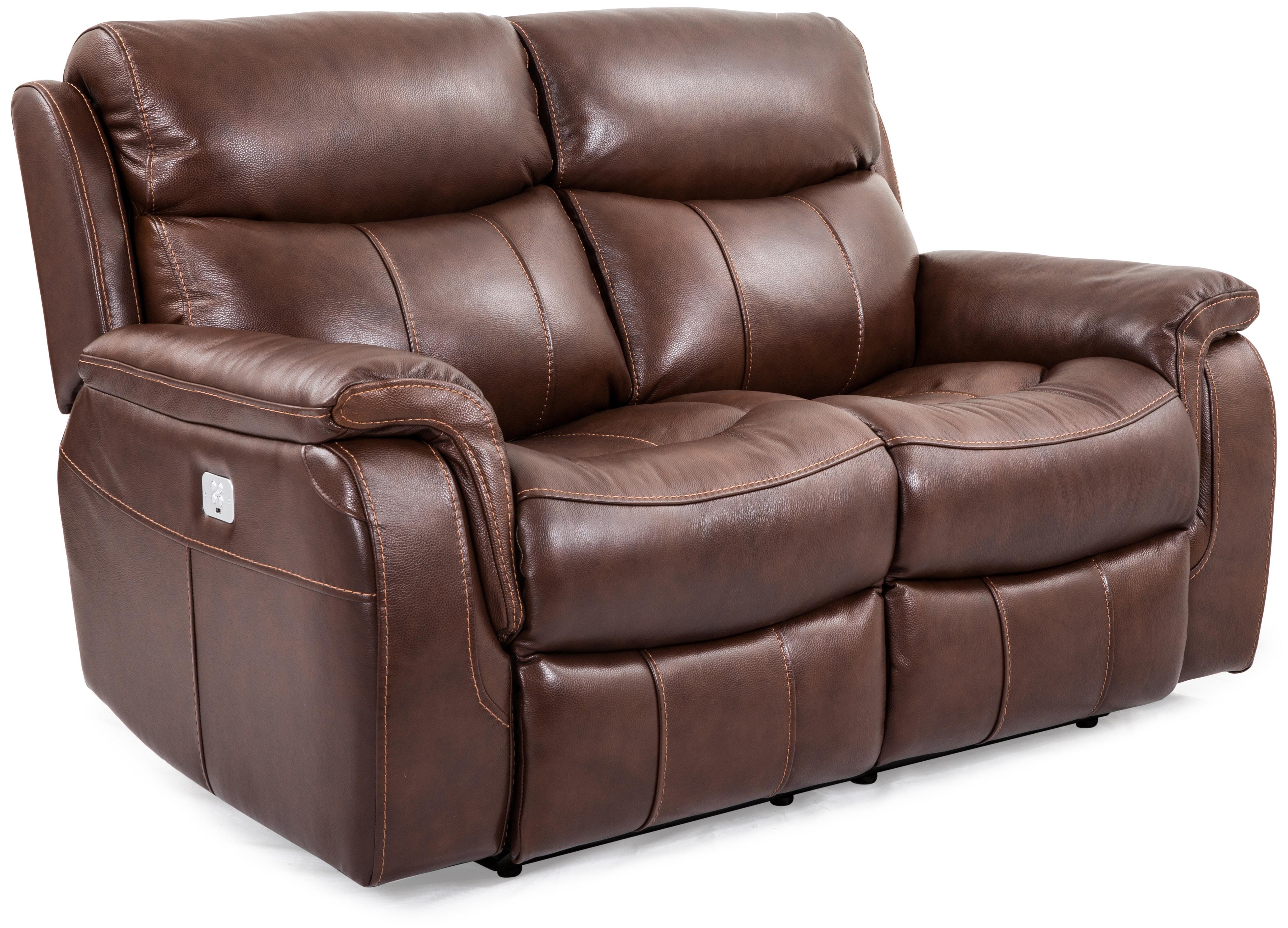 waylen power motion dual reclining loveseat brown