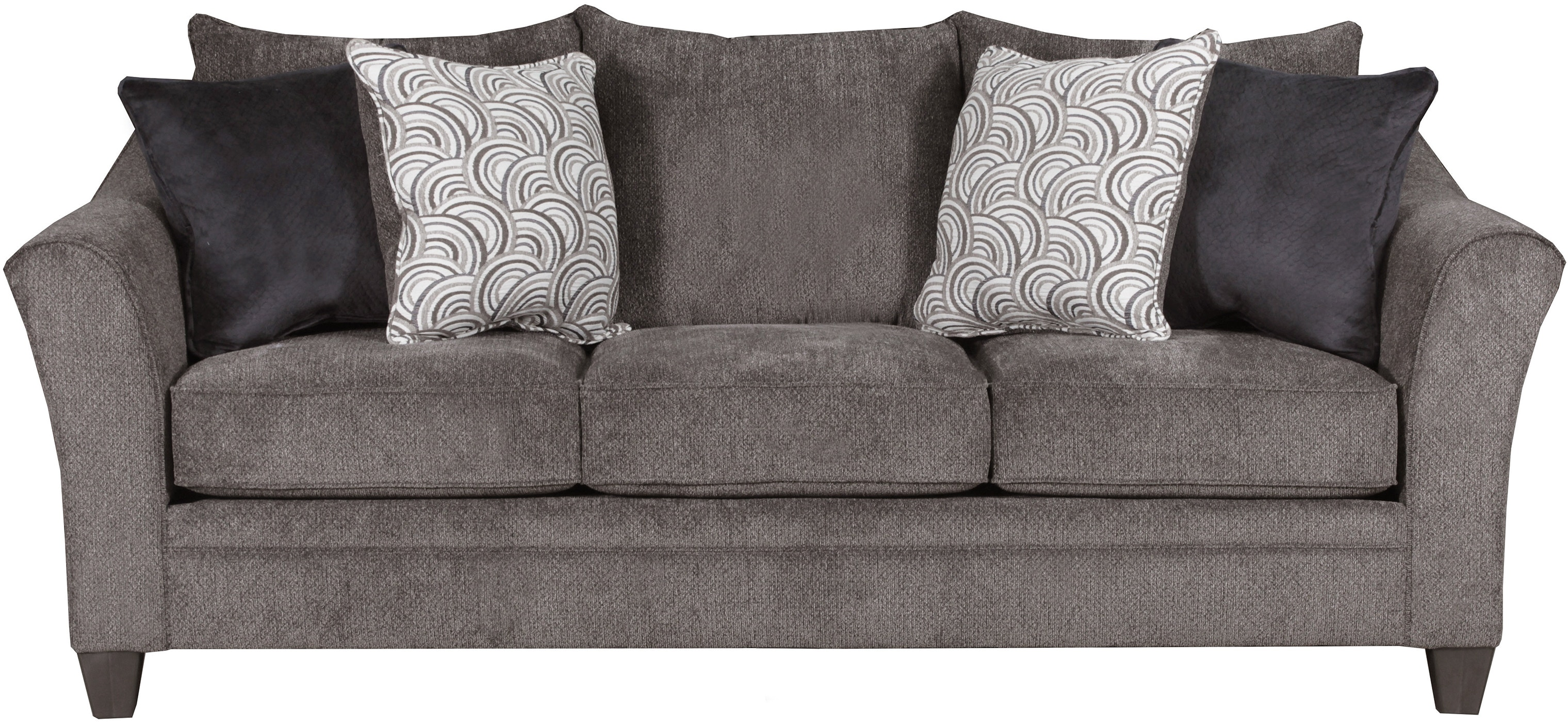 Albany Sofas Albany 8645 Traditional Stationary Sofa With
