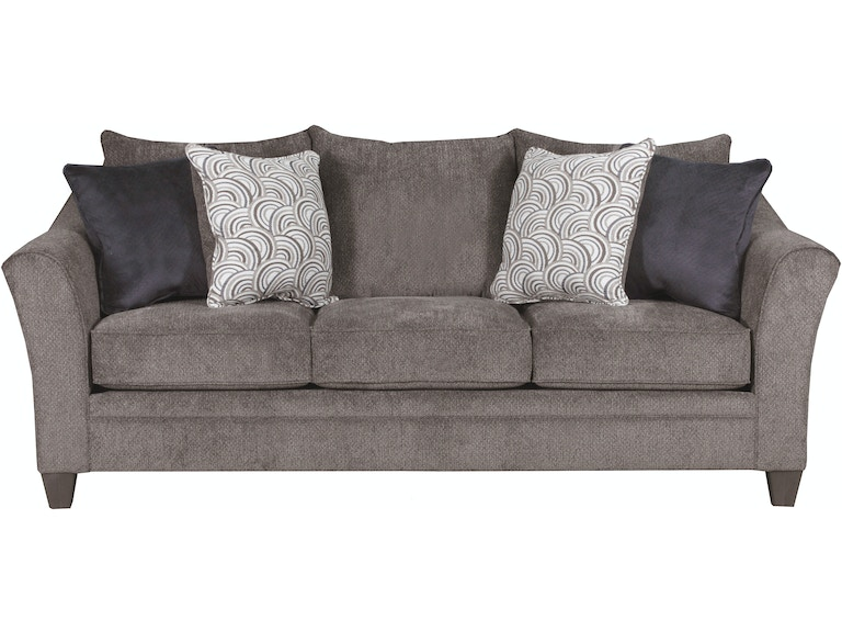Living Room Albany Sofa Pewter