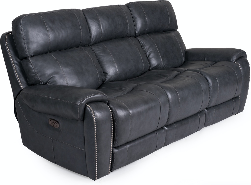 Living Room Grace Leather Power Reclining Sofa
