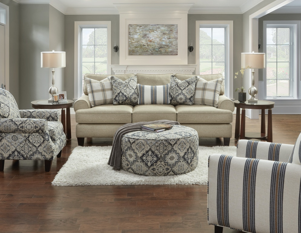 Living Room Ethan Accent Chair