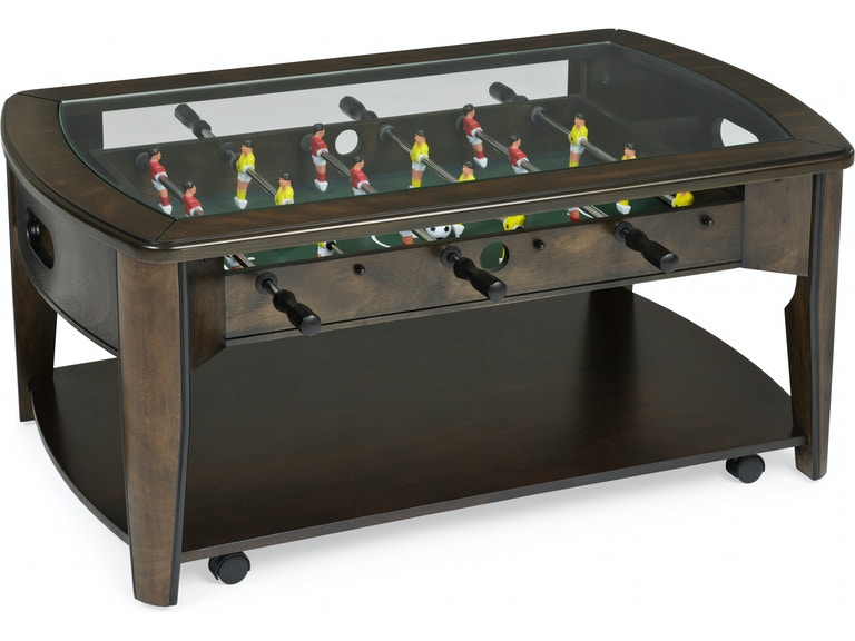 Living Room Compton Foosball Coffee Table - Foosball coffee table with stools