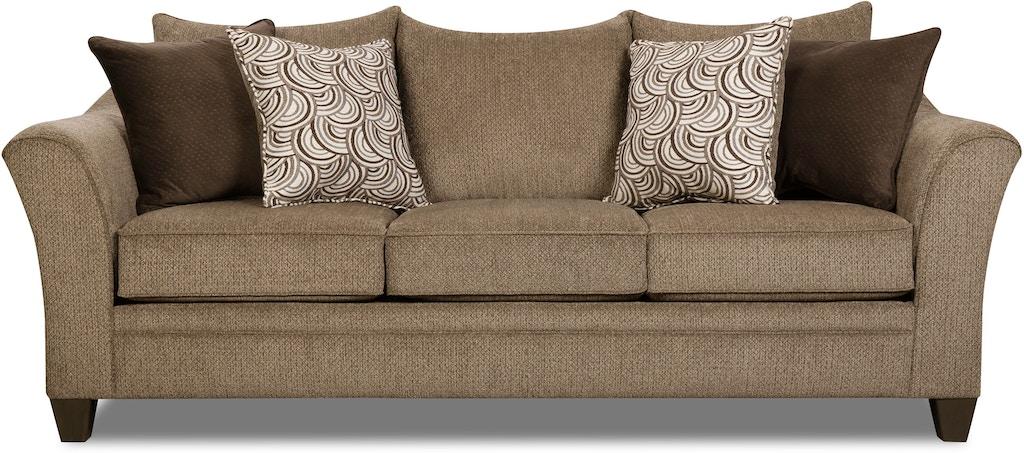 Albany Queen Sleeper Sofa Truffle St 502032