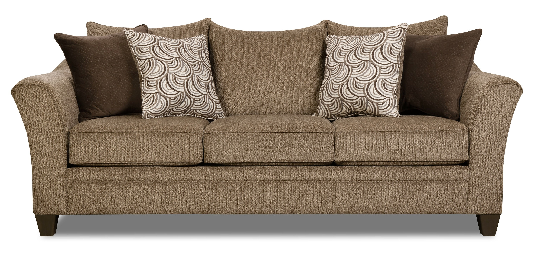 Charmant Albany Queen Sleeper Sofa   TRUFFLE ST:502032
