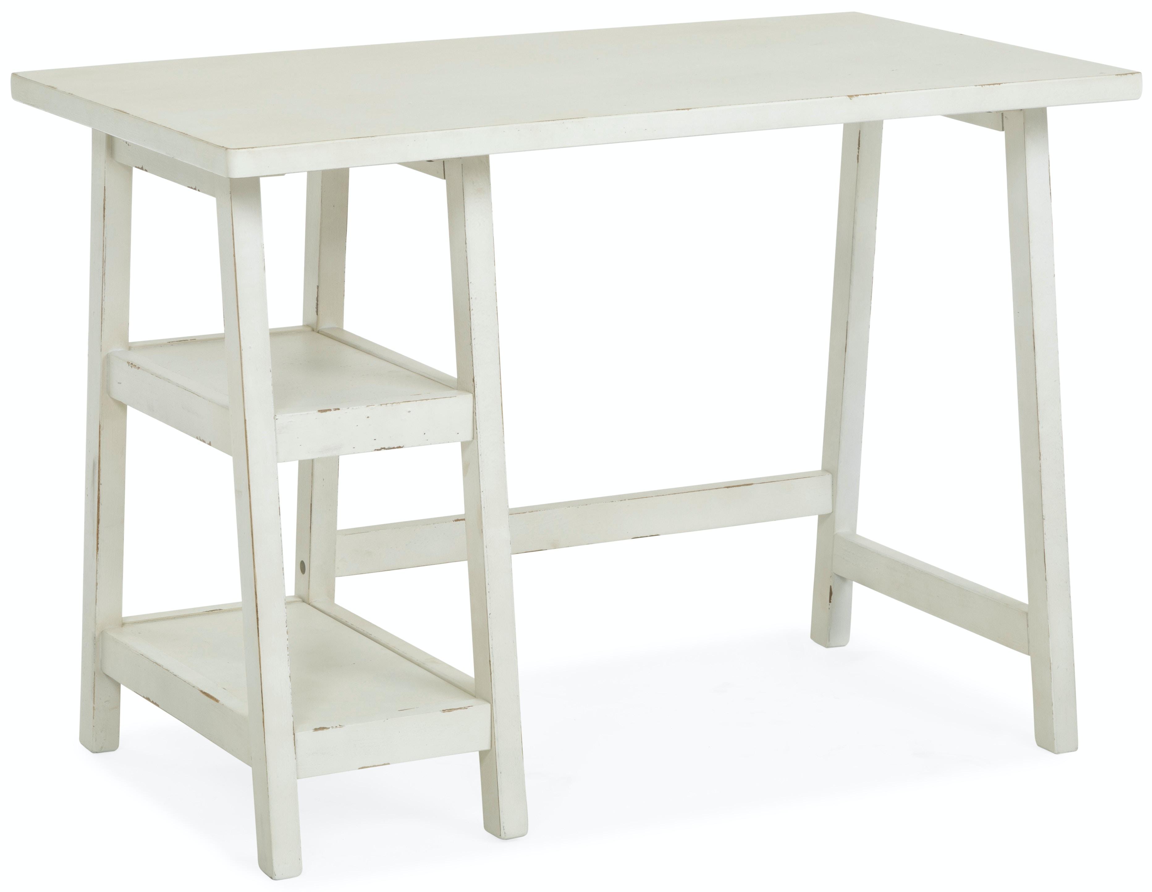Merveilleux LaCross Desk   White ST:504683