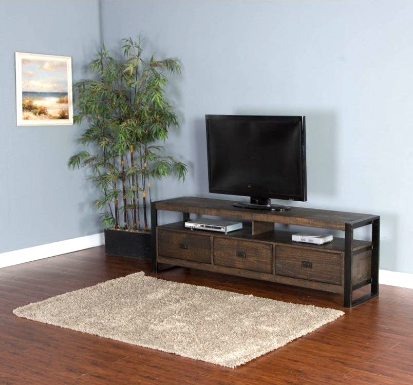 Home Entertainment Omega 78 3 Door Tv Stand