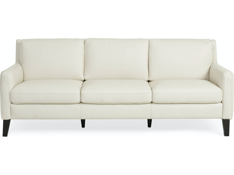Verona Leather Sofa Ivory St 508271