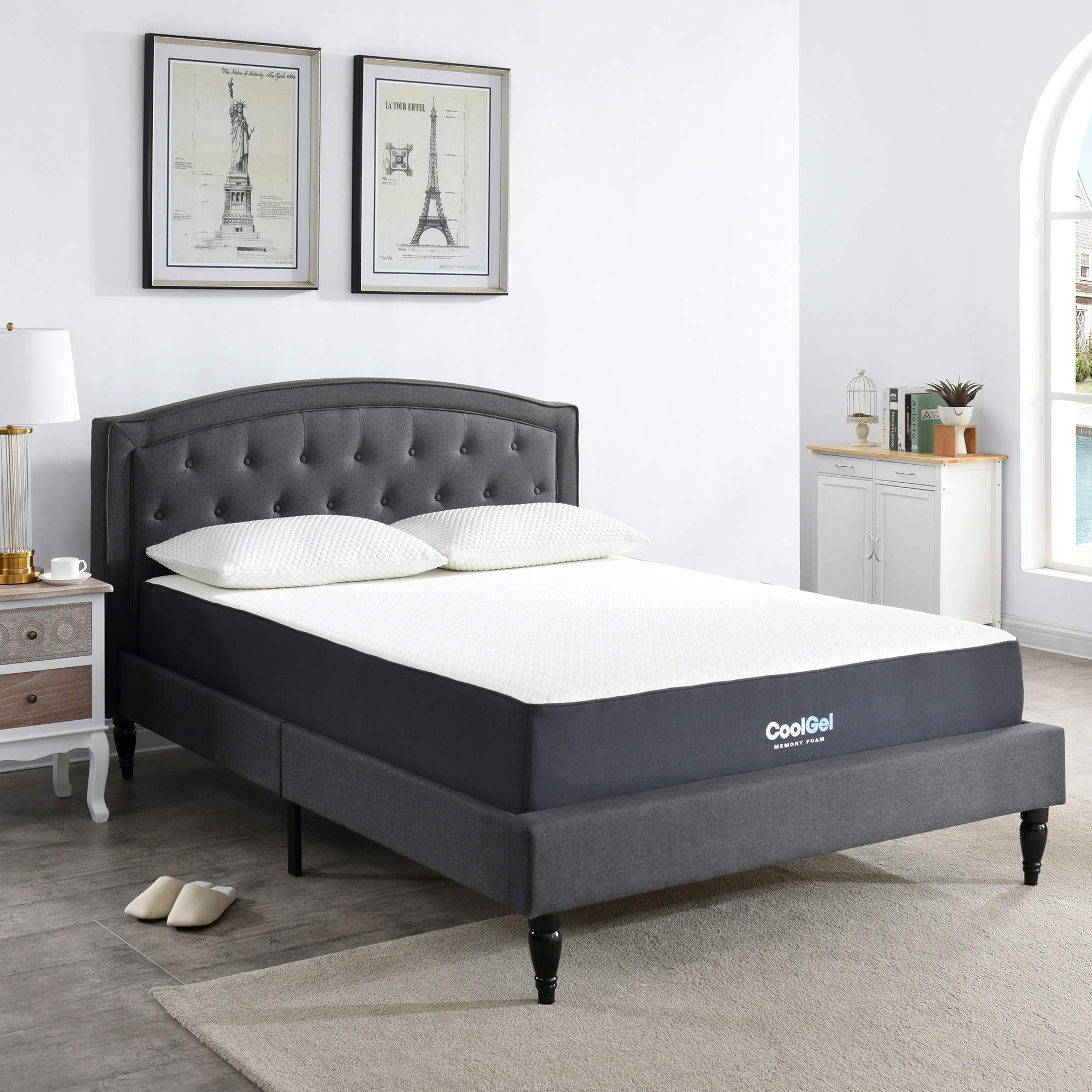 Mattresses Classic Brands 10 5 Inch Cool Gel Memory Foam Mattress
