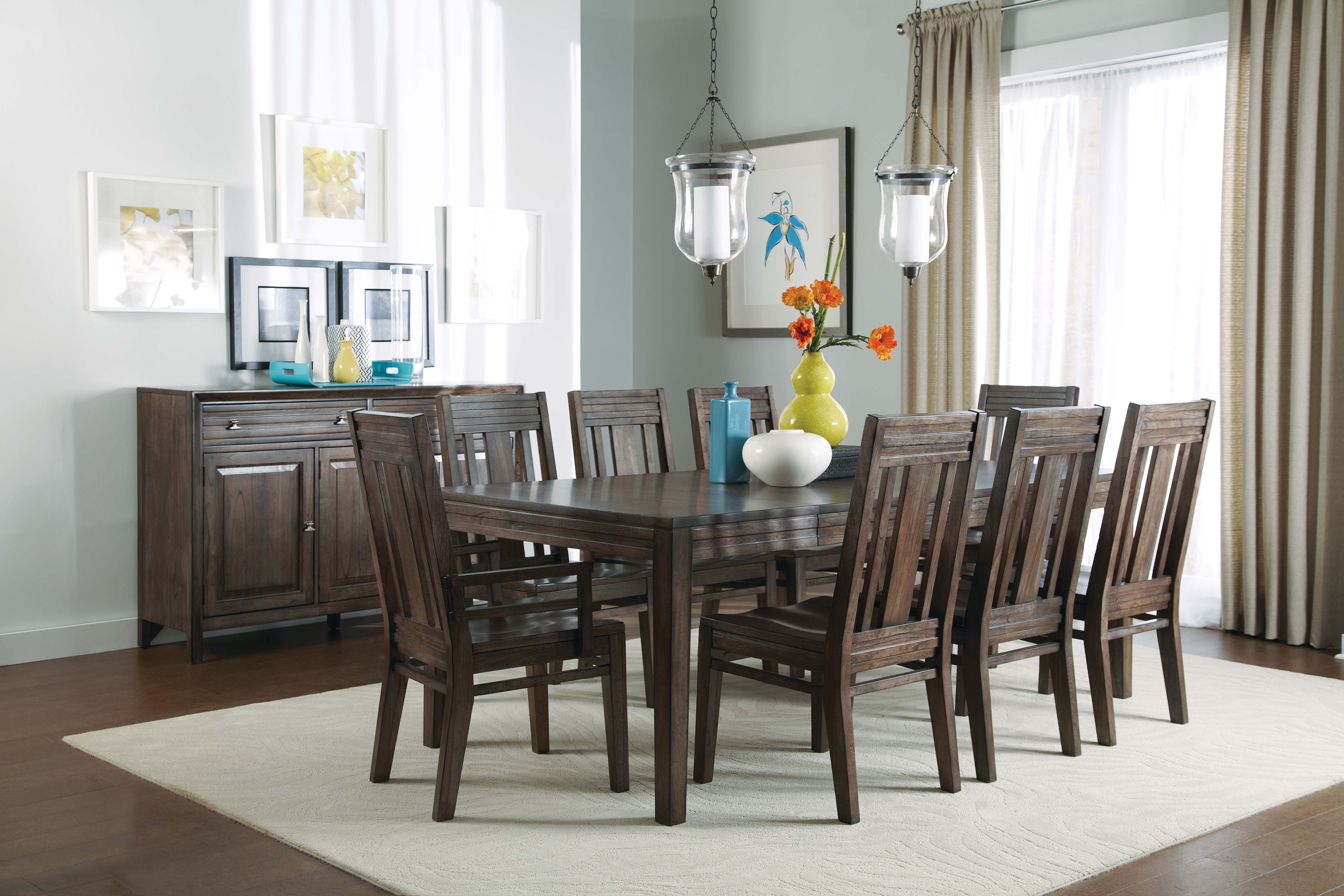 Montreat 5 Piece Dining Room Set: Includes Table U0026 4 Side Chairs GP: