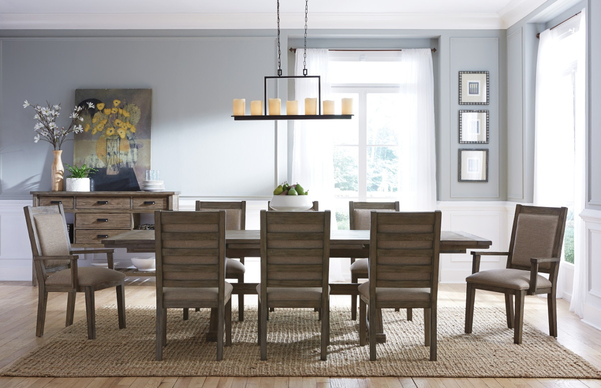 Foundry 5 Piece Rectangle Dining Room Set GP:D281
