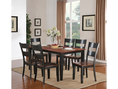 Madera 5 Piece Dining Includes Rectangle Table 4 Side Chairs