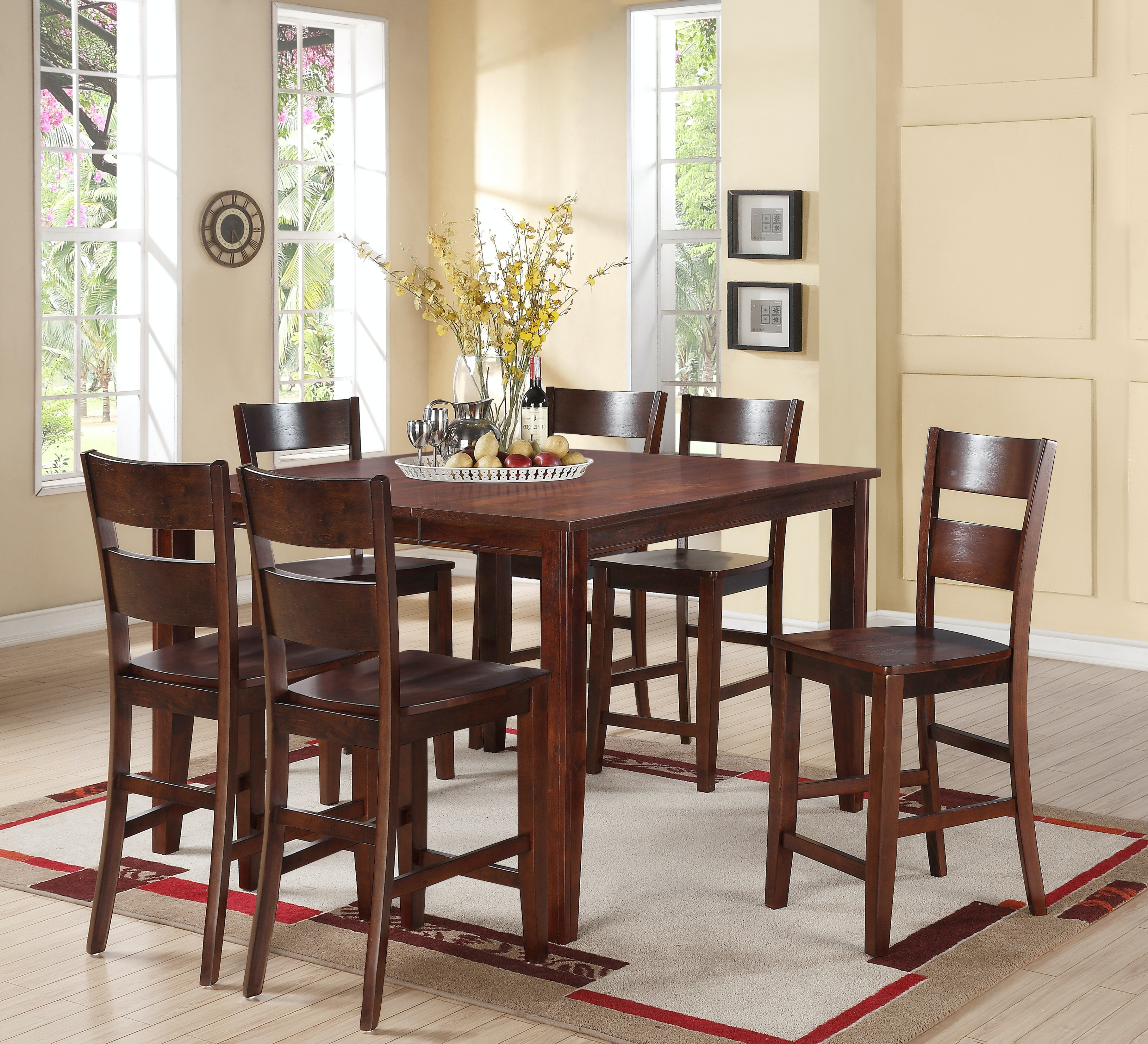 Madera 5 Piece Dining: Includes Counter Height Table U0026 4 Counter Height  Side Chairs Part 78