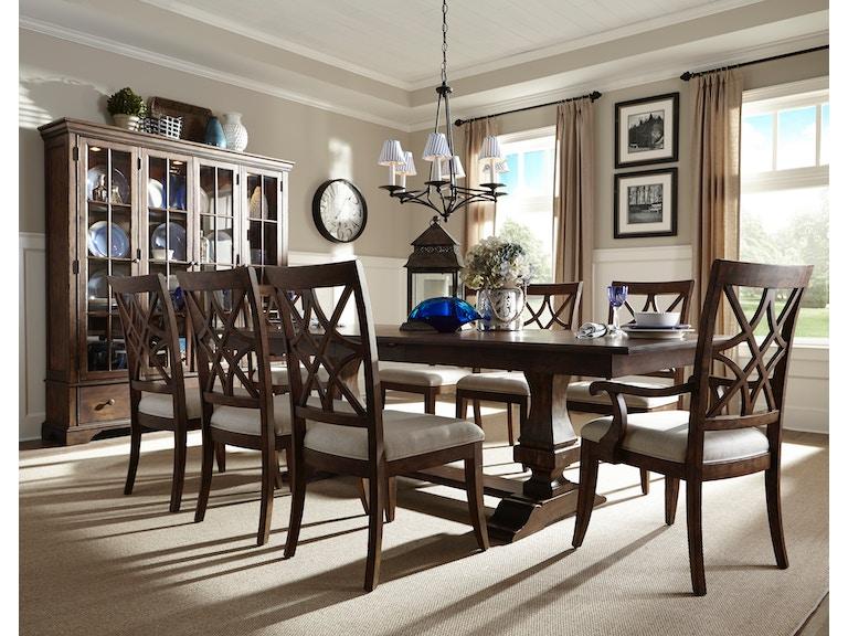 Trisha Yearwood 5 Piece Dining Room Set Includes Trishas Trestle Table 4 Nashville