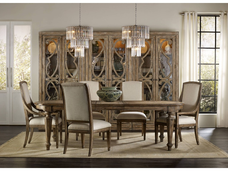 Solana 5-Piece Dining Room Set: includes Rectangle Table & 4 Side Chairs