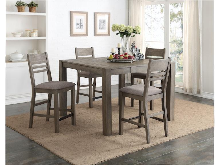 Easton Grey 5 Piece Counter Height Dining Set Gp D484