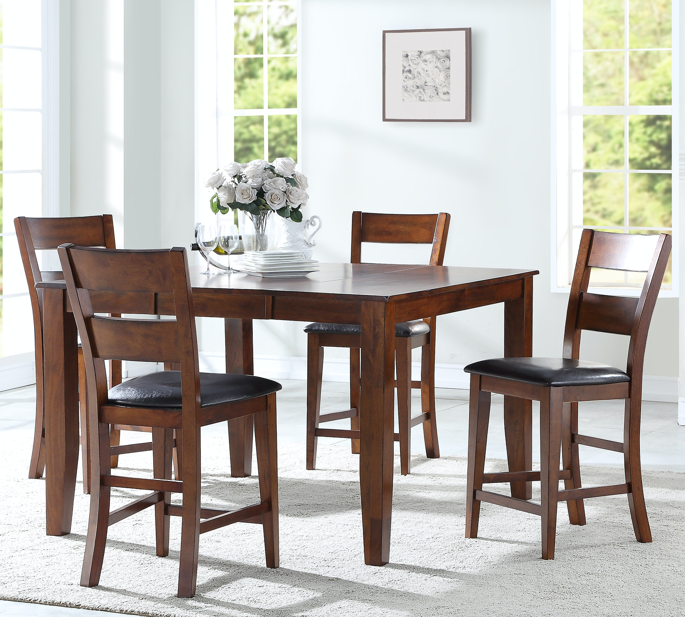 Mango 5 Piece Counter Height Dining Set GP:D592