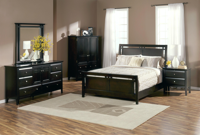 brentwood sleigh bed queen kt12864