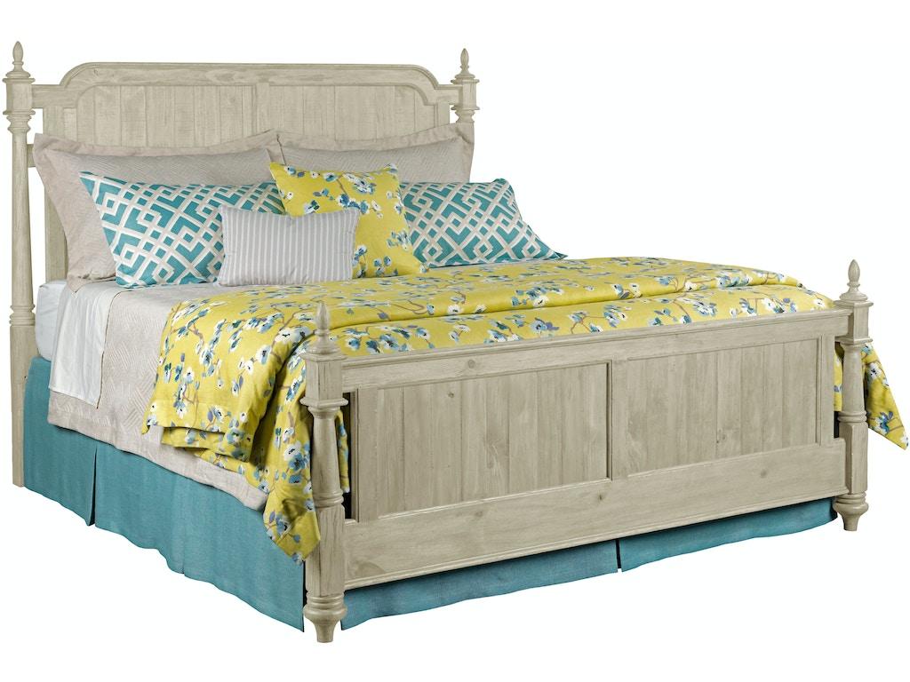 Bedroom Weatherford Westland Panel Bed Cornsilk Queen