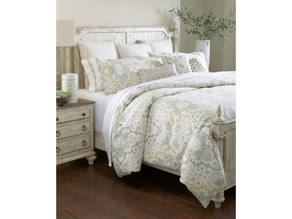 Bedroom Weatherford Westland Panel Bed Cornsilk Queen