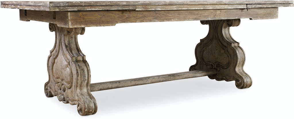 Clet Refectory Rectangle Trestle Dining Table Kt 29736