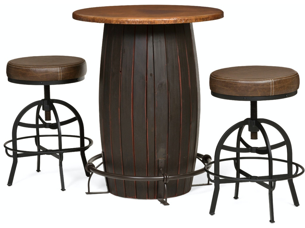 dining room barrica bar height bistro table - barrica bar height bistro table kt