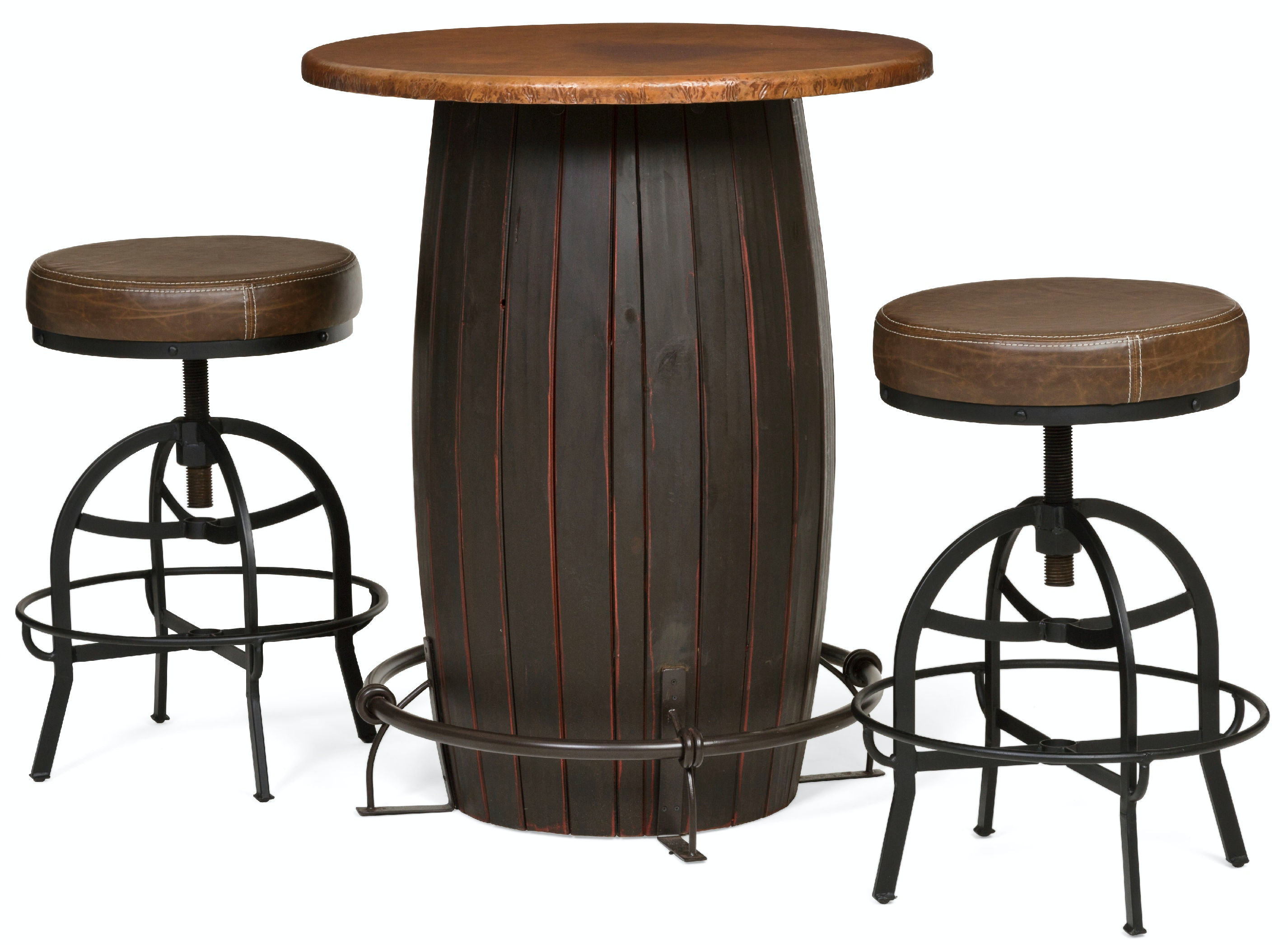 barrica bar height bistro table kt32177