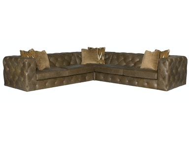 Chelsea 3-Piece Leather Sectional
