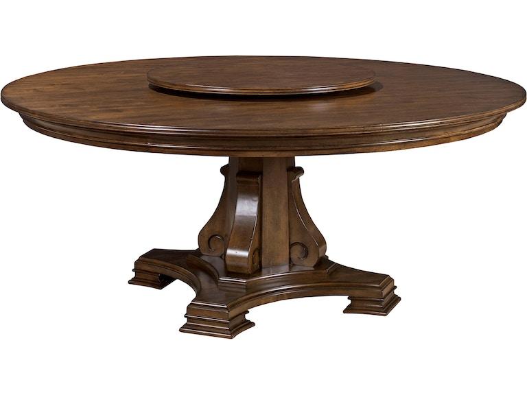 Dining Room Portolone Stellia 72 Quot Round Pedestal Table