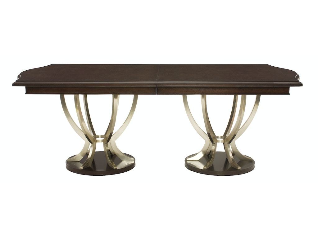 Pedestal Dining Table Dining Room Miramont Double Pedestal Dining Table