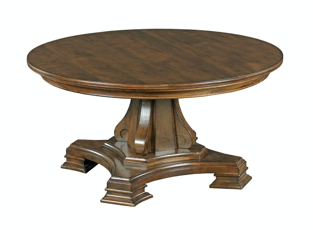 Portolone Round Cocktail Table