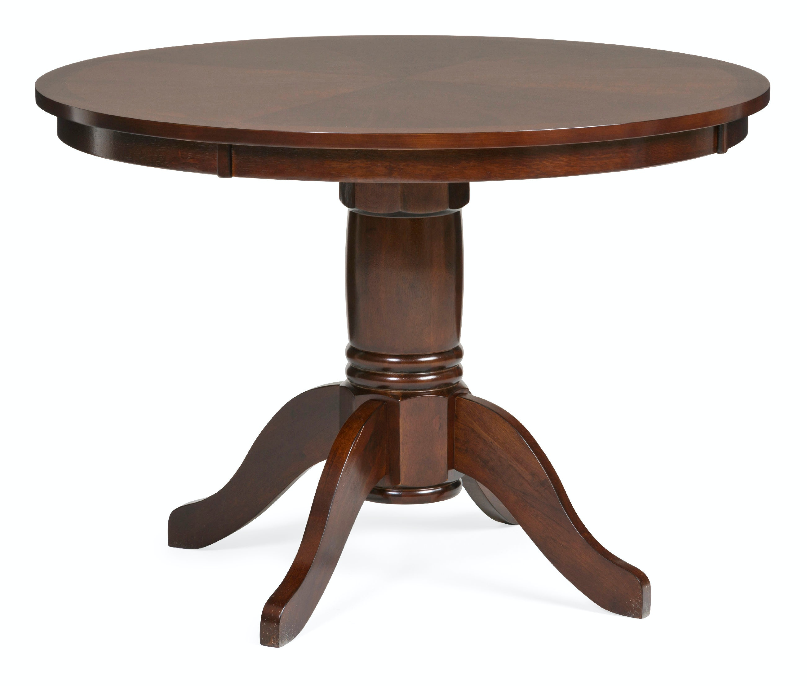 dining room madera 42 round dining table espresso finish