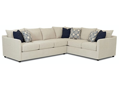Trisha Yearwood - Atlanta 2-Piece Sectional (with LEFT-Arm Facing Sofa)