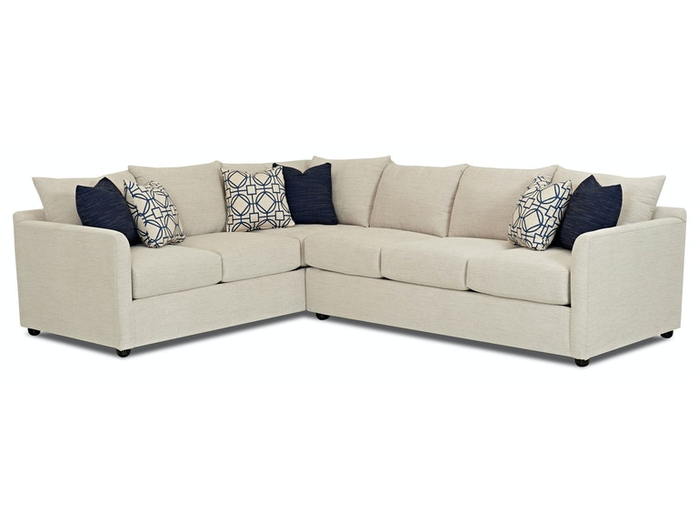 Trisha Yearwood Atlanta 2 Piece Sectional With Right Arm