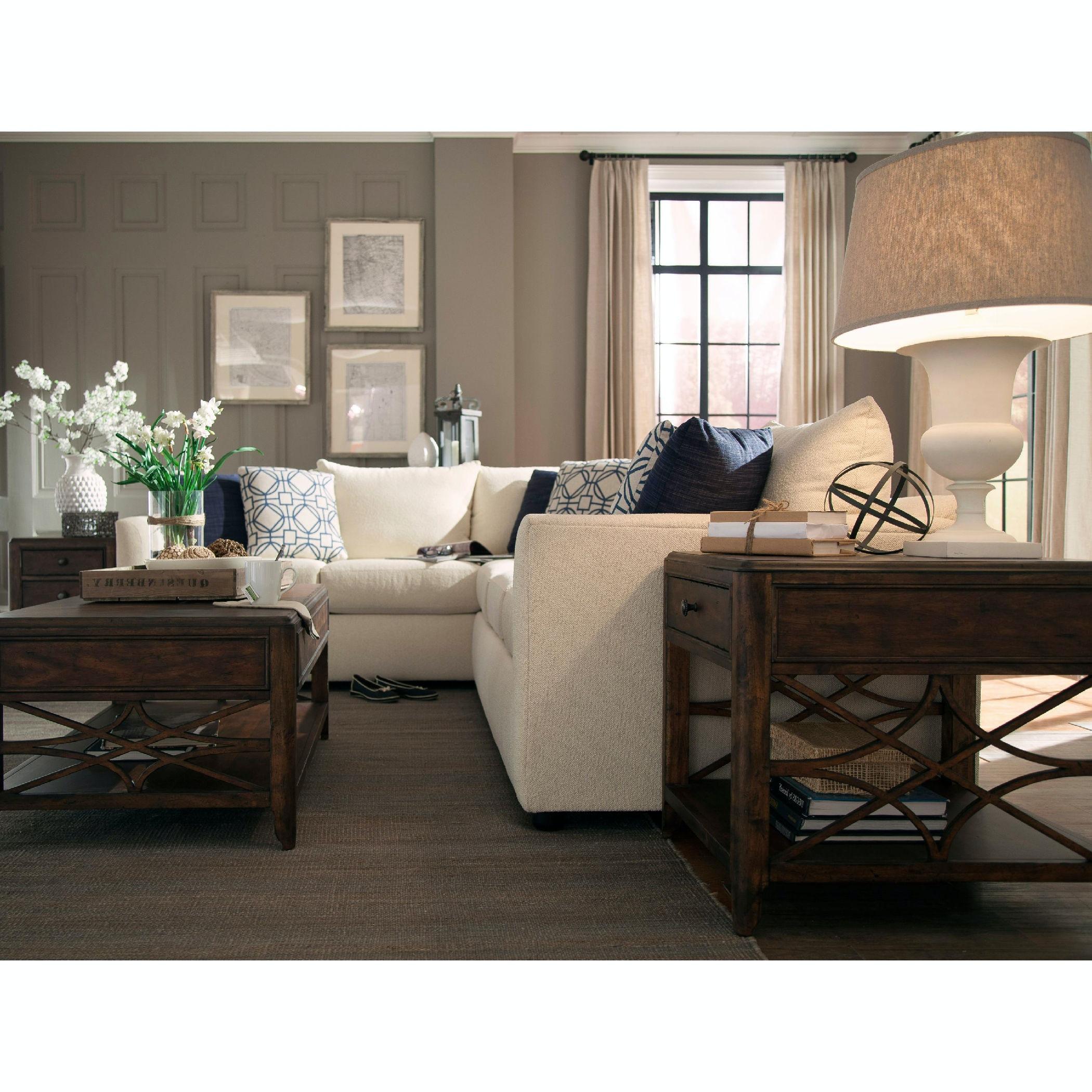 trisha yearwood atlanta 2piece sectional with rightarm facing sofa - 2 Piece Sectional