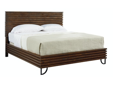 Magnolia Home - Stacked Slat Bed - QUEEN