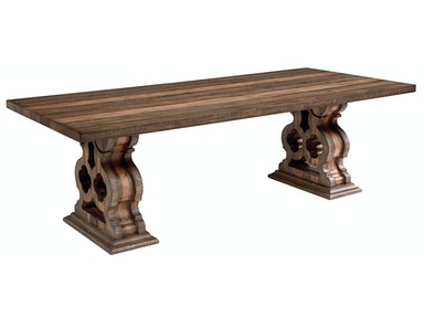 Magnolia Home - Double Pedestal Dining Table