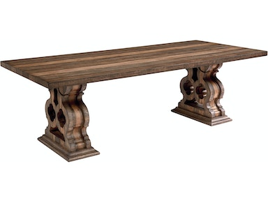 Magnolia Home Double Pedestal Dining Table