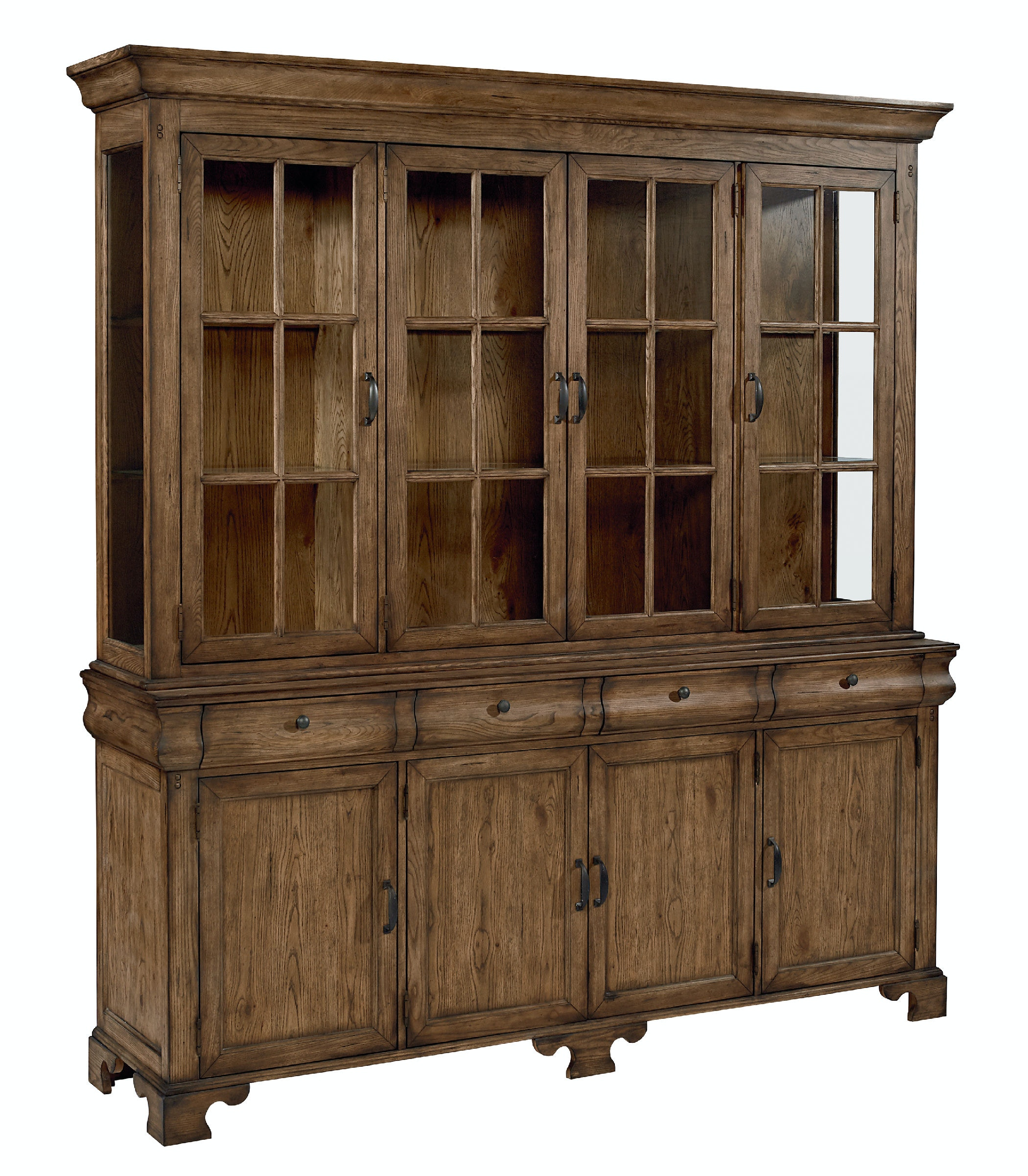 Magnolia Home   Showcase Buffet And Hutch KT:50591