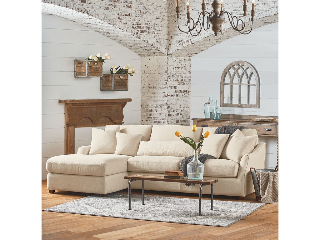 Magnolia Living Room Living Room Magnolia Home Homestead 2 Piece Laf Chaise Sofa