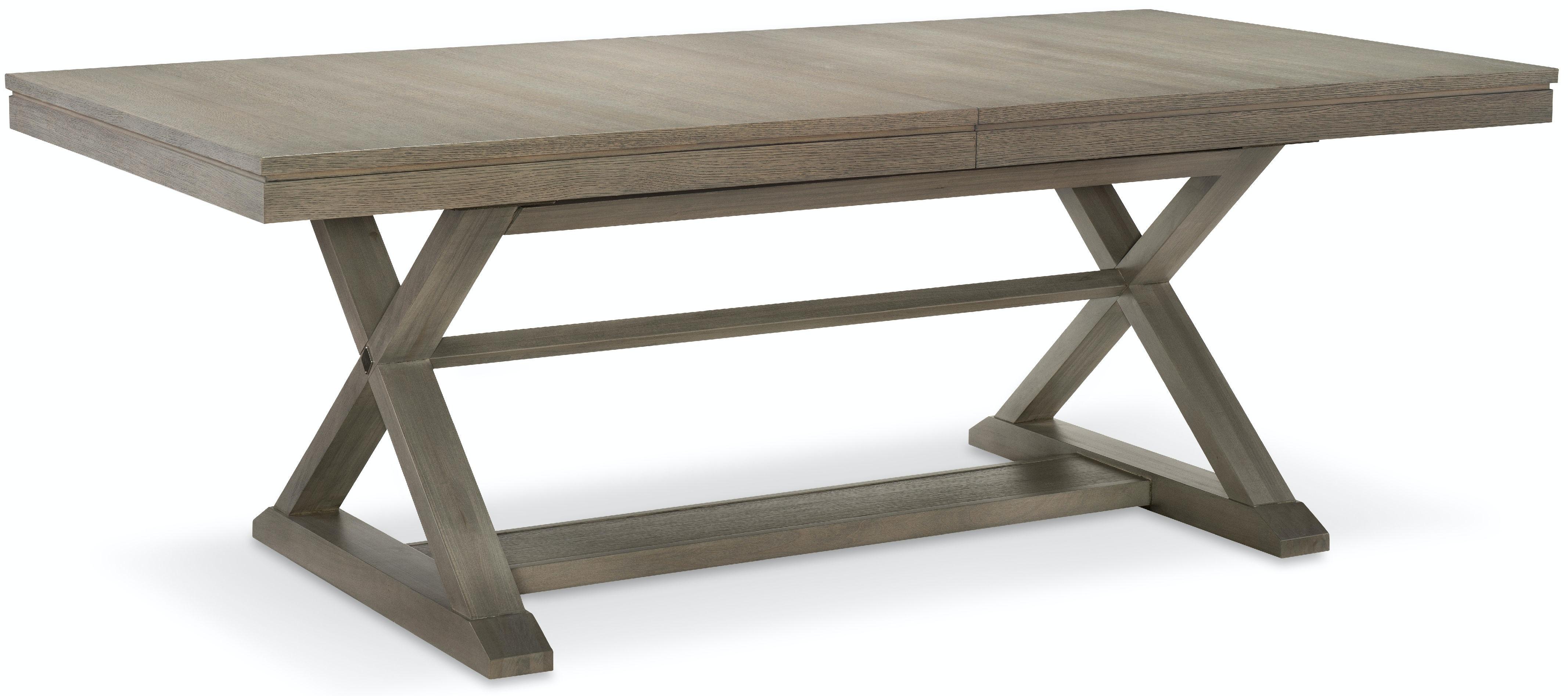 dining room rachael ray home - highline trestle table