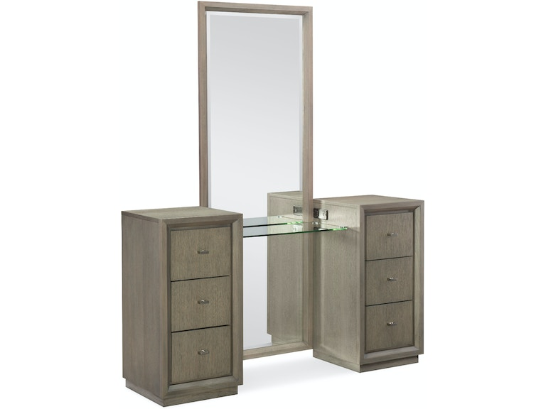 Bedroom Rachael Ray Home Highline Vanity With Mirror