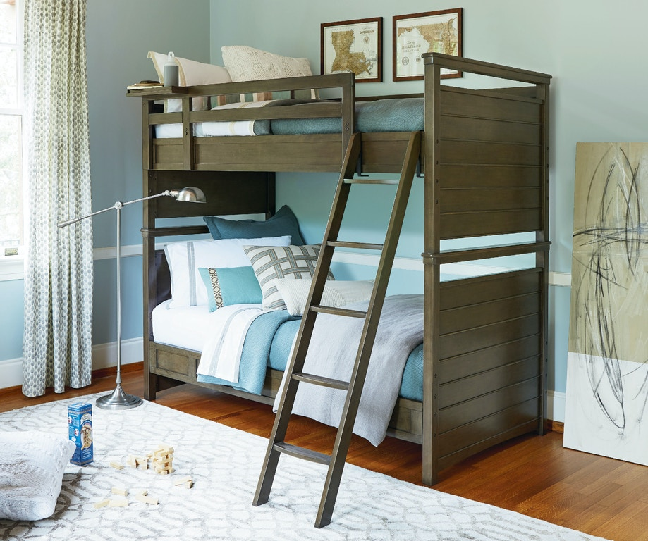 Youth Bedroom Varsity All American Bunk Bed Twin Over Twin