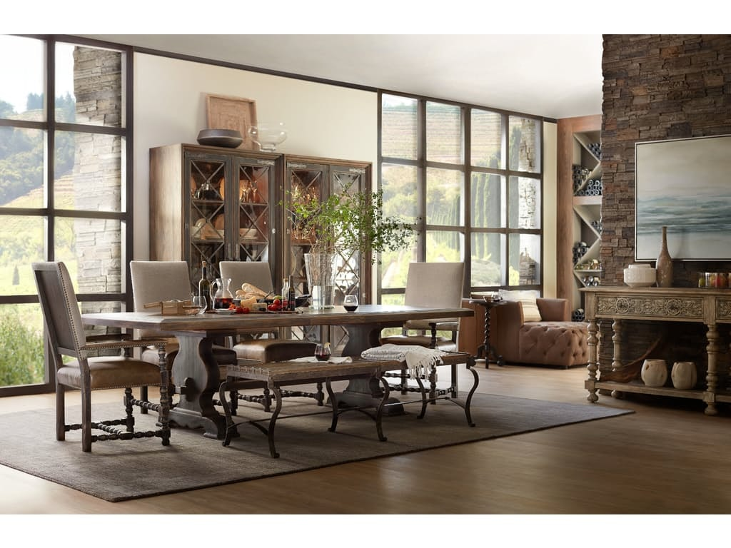 Hill Country Trestle Dining Table KT:62505