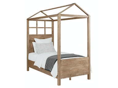 Magnolia Kids - Boho Playhouse Canopy Bed - SALVAGE