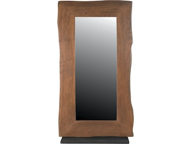 Brandy Floor Mirror on Stand