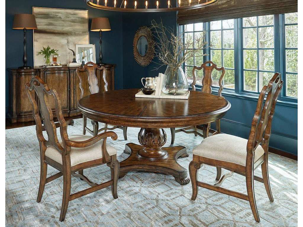 66 Round Dining Table Dining Room Continental 66 Round Dining Table