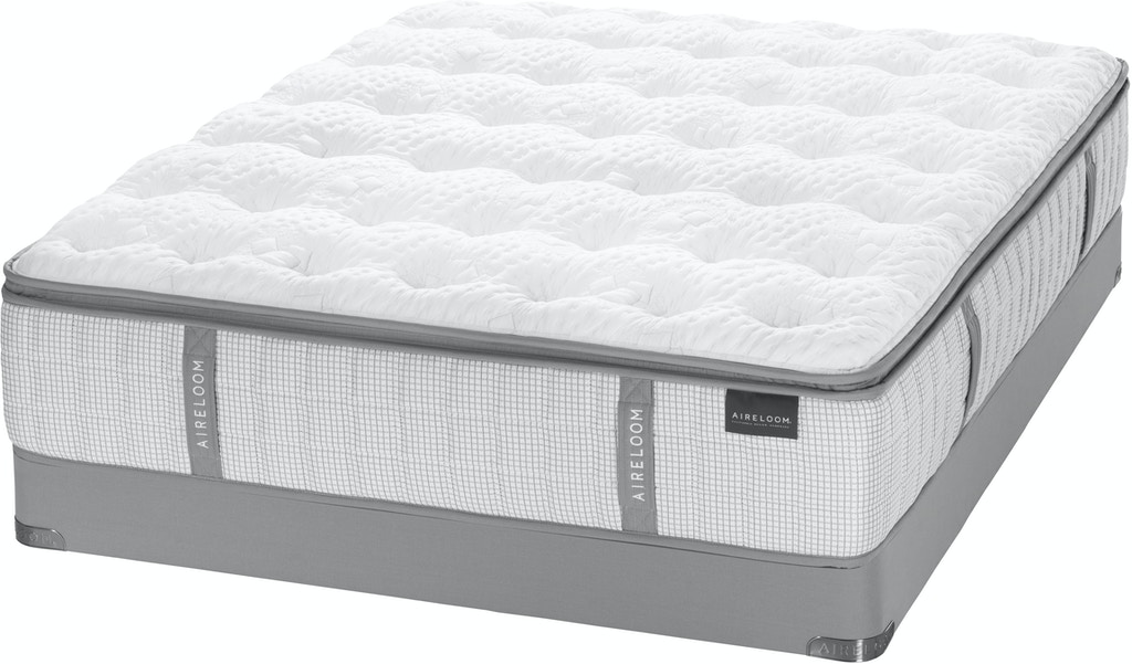 Aireloom Sterling Preferred El Micro Luxetop Plush Low Profile Mattress Set Twin Xl