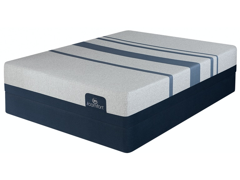 Mattresses Serta Icomfort Blue 500 Plush Mattress With Low Profile