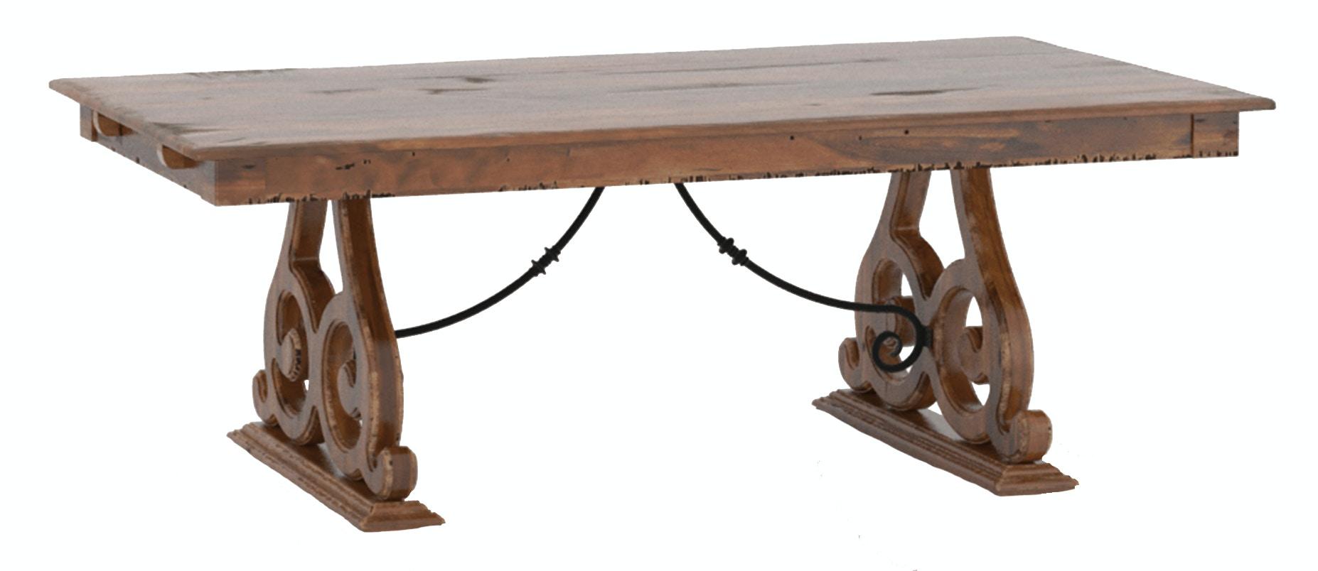 Champlain Double Pedestal Rectangle Table
